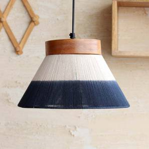 Afreen  Hanging Lamp (White Finish, Conical Shape) by Urban Ladder - Design 1 Full View - 302335
