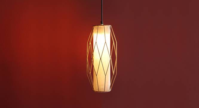 Ori Hanging Lamp (Gold Finish) by Urban Ladder - Design 1 Full View - 302345