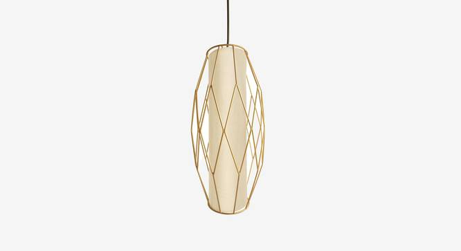 Ori Hanging Lamp (Gold Finish) by Urban Ladder - Front View Design 1 - 302346