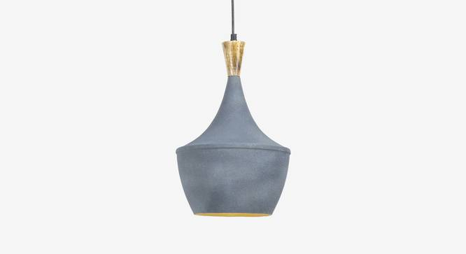 Gris Hanging Lamp (Grey Finish) by Urban Ladder - Front View Design 1 - 302368