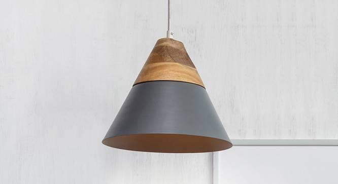Maverick Hanging Lamp (Grey Finish) by Urban Ladder - Design 1 Full View - 302388