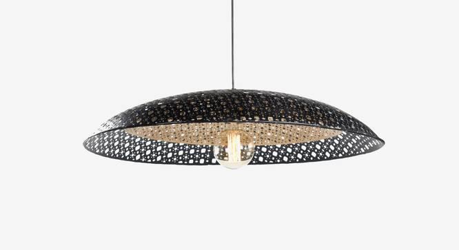 Louvre Hanging Lamp (Black Finish, Big Size) by Urban Ladder - Design 1 Full View - 302430
