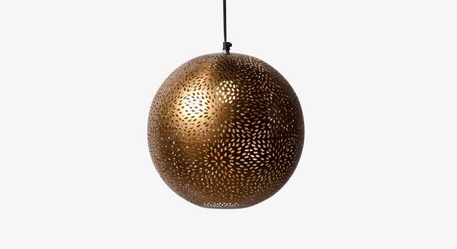 Cupula Hanging Lamp (Antique Brass Finish) by Urban Ladder - Front View Design 1 - 302466