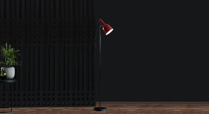 Hay Floor Lamp (Black Finish) by Urban Ladder - Design 1 Full View - 302474