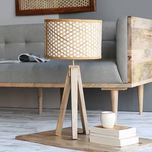 Canna Table Lamp (Natural Finish) by Urban Ladder - Design 1 Full View - 302489