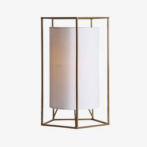 Cybil Table Lamp (Gold Finish) by Urban Ladder - Design 1 Full View - 302497
