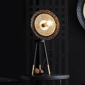 Louvre Table Lamp (Black Finish) by Urban Ladder - Design 1 Full View - 302524