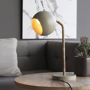 Miraw  Study Table Lamp (Beige Finish) by Urban Ladder - Design 1 Full View - 302531