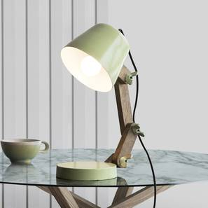 Pint Table Lamp (Green Finish) by Urban Ladder - Design 1 Full View - 302541
