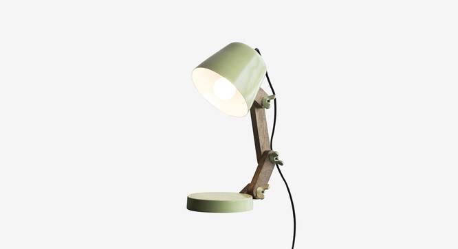 Pint Table Lamp (Green Finish) by Urban Ladder - Front View Design 1 - 302542