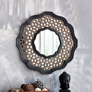 Darbar Wall Mirror (Black Finish) by Urban Ladder - Design 1 - 302554