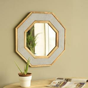 Hexago wall mirror lp