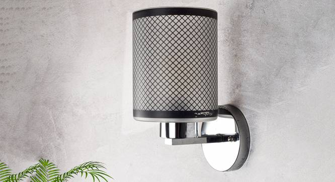 Alina Wall Light (Black) by Urban Ladder - Design 1 Semi Side View - 302686