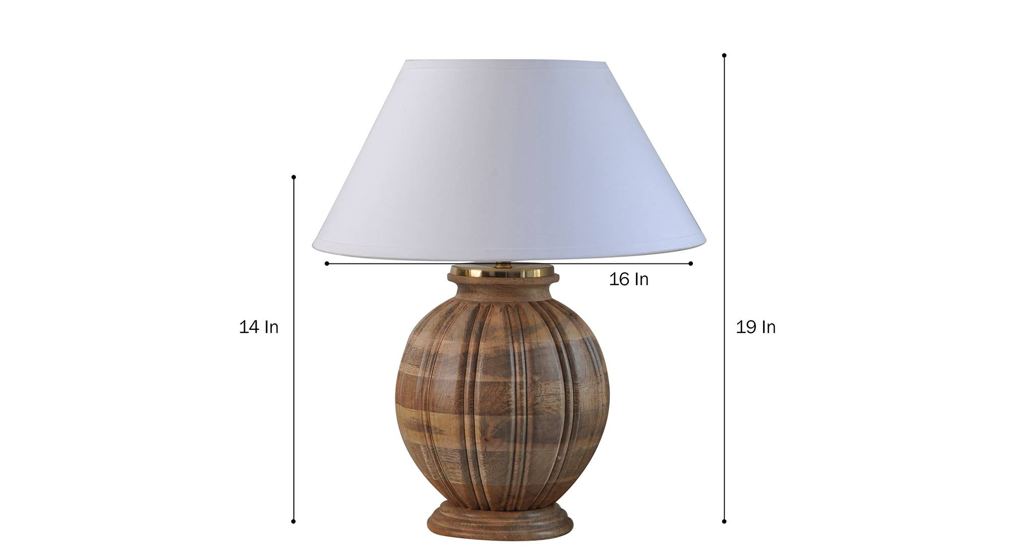 Astros table lamp wh 5