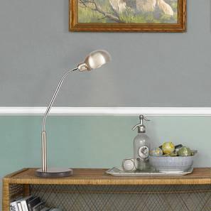 Barn Study Lamp (Chrome) by Urban Ladder - Design 1 Half View - 302785