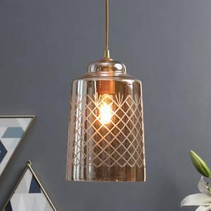 Bosnia Hanging Lamp (Amber) by Urban Ladder - Design 1 -