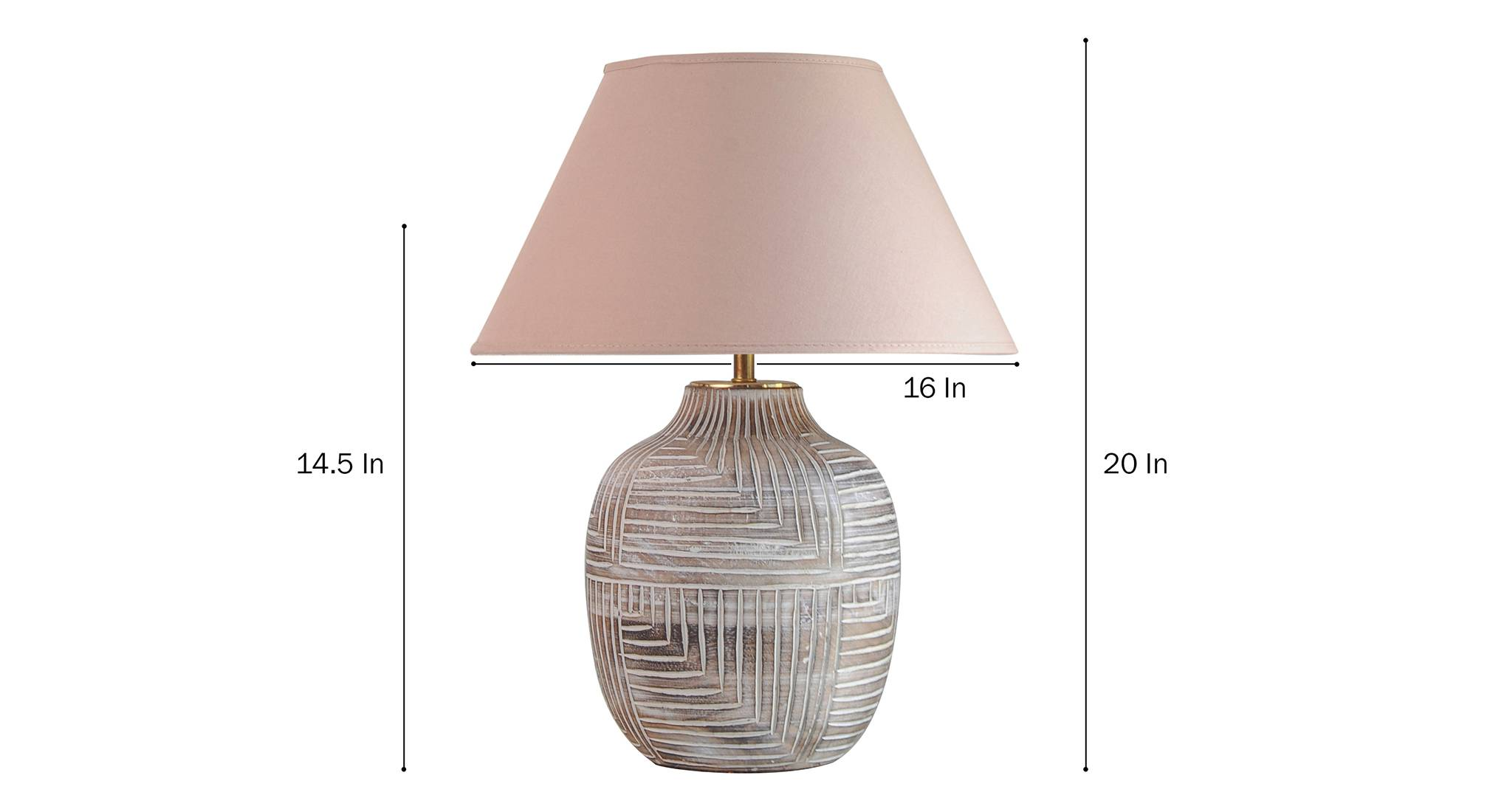 Cumberland table lamp beige 5