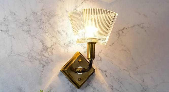 Viken Wall Light (Brass) by Urban Ladder - Design 1 Half View - 302968