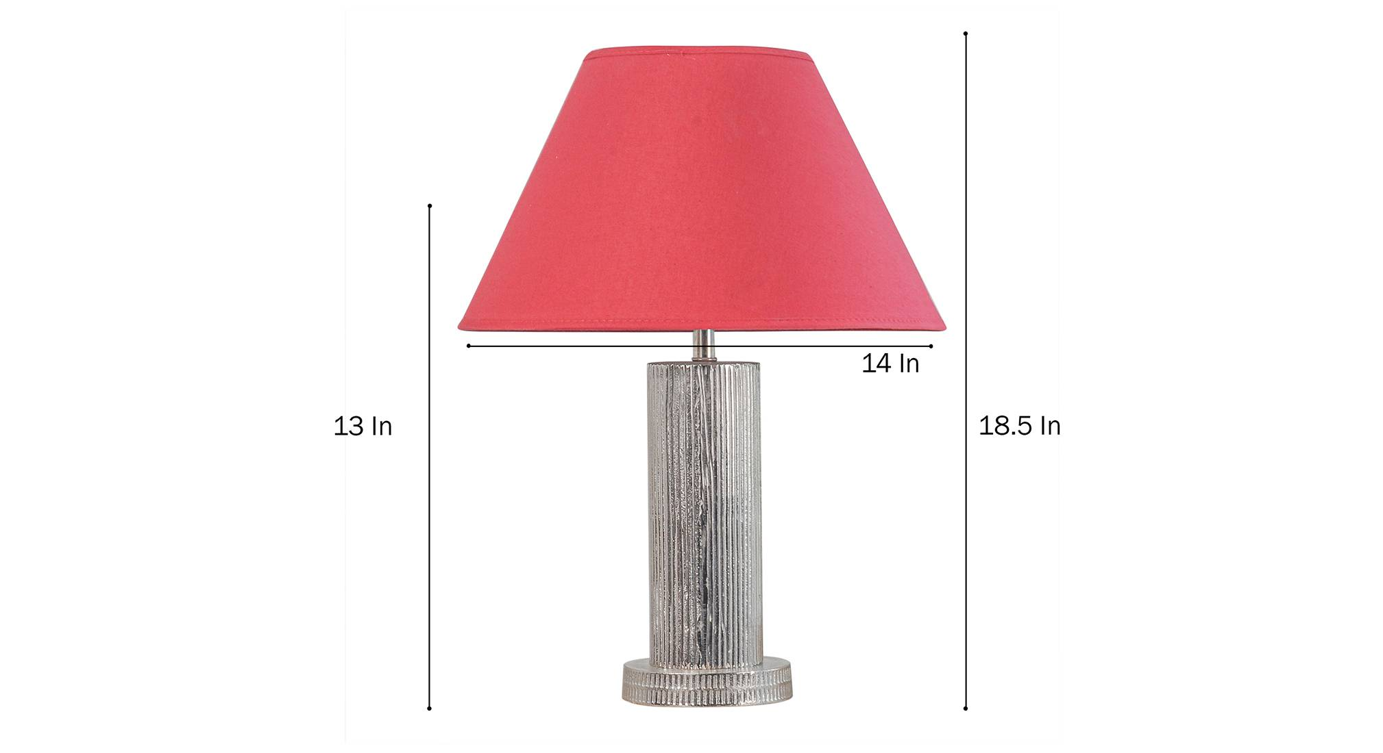 Tisdale table lamp maroon 5