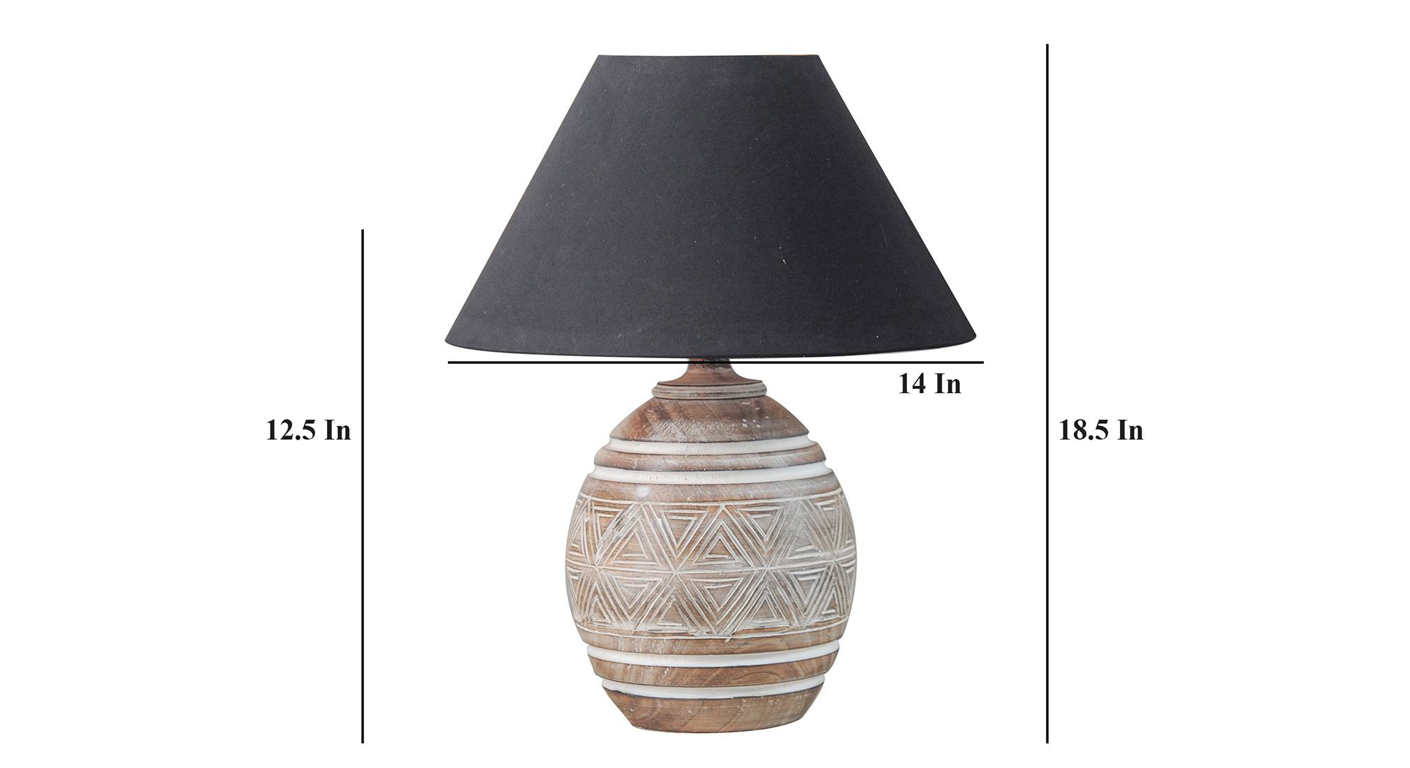 Levery bk table lamp 5