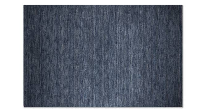 "Aurora Hand Loom Carpet (152 x 236 cm  (60 x 93"") Carpet Size, Royal Blue) by Urban Ladder - - 30317"