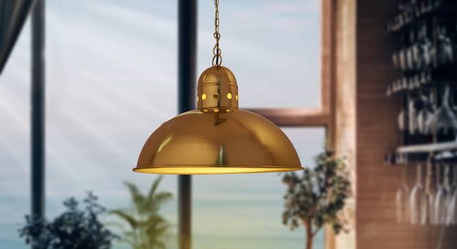 Sormon Pendant (Brass) by Urban Ladder - Half View -