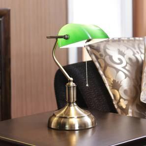 Judy Study Lamp (Antique Brass) by Urban Ladder - Design 1 Half View - 303249