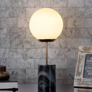 Topeka Table Lamp (White) by Urban Ladder - Design 1 Half View - 303323