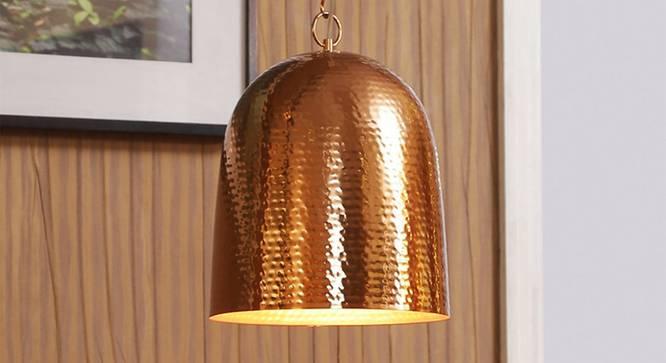 Linta Pendant (Copper) by Urban Ladder - Design 1 Half View - 303344