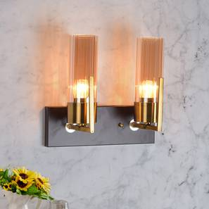 Grove Wall Light (Antique Brass) by Urban Ladder - Design 1 Half View - 303399