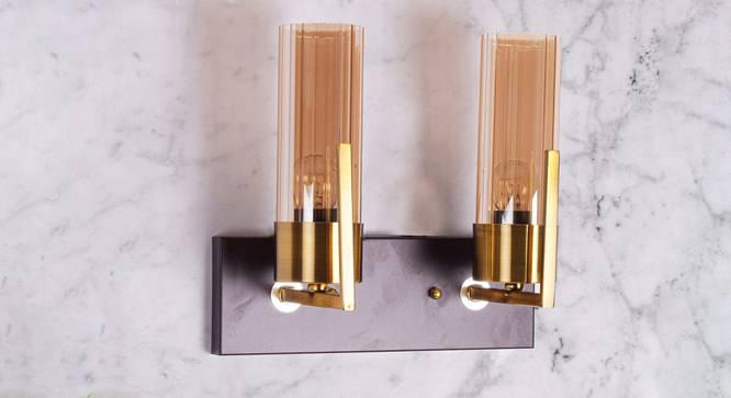 Grove Wall Light (Antique Brass) by Urban Ladder - Design 1 Semi Side View - 303400