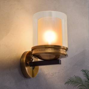 Gorden Wall Light (Brass) by Urban Ladder - Design 1 Half View - 303406