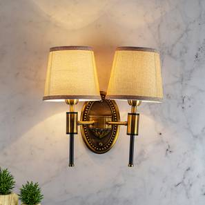 Miles Wall Sconce (Brass) by Urban Ladder - Design 1 Half View - 303514