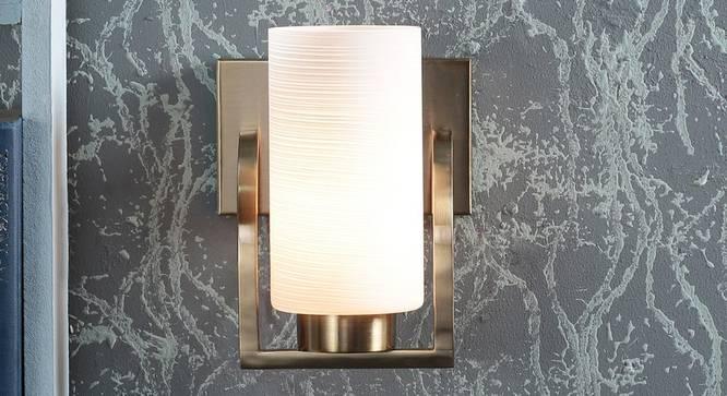 Drida Wall Light (White) by Urban Ladder - Design 1 Half View - 303642