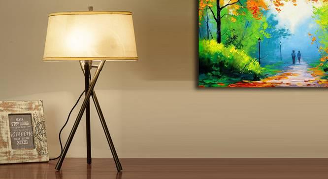 Hesser Table Tripod Lamp by Urban Ladder - Design 1 Half View - 303967