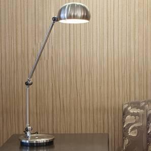 Farren Study Lamp (Silver) by Urban Ladder - Design 1 Half View - 304037