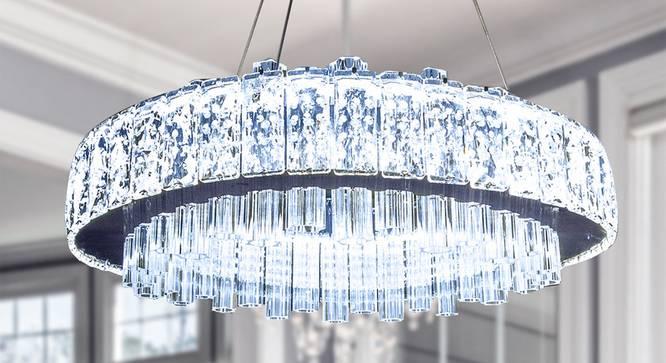 Deiliza Chandelier (Transperant) by Urban Ladder - Design 1 Half View - 304212