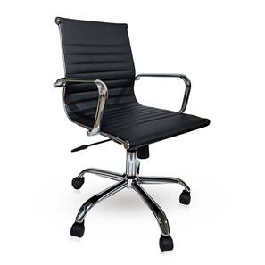 Charles study chair new black lp