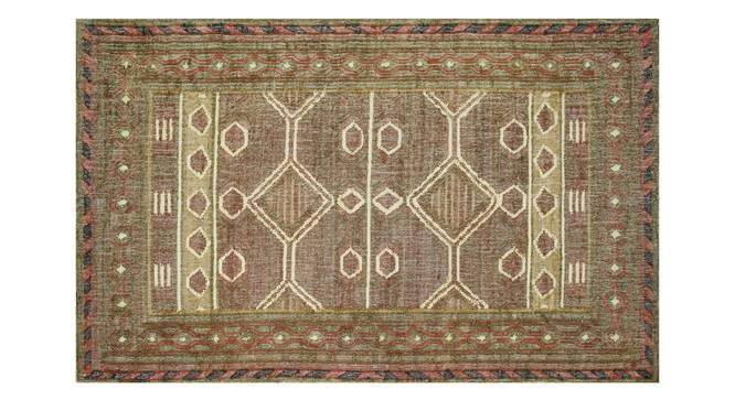 "Alaiyana Dhurrie (Red, 152 x 244 cm  (60"" x 96"") Carpet Size) by Urban Ladder - Design 1 Details -"