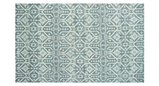 "Finja Carpet (Grey, 152 x 244 cm  (60"" x 96"") Carpet Size) by Urban Ladder - Front View Design 1 - 304583"