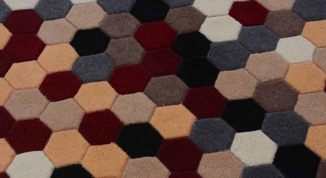 "Carina Carpet (Red, 91 x 152 cm  (36"" x 60"") Carpet Size) by Urban Ladder - Design 1 Details - 304756"