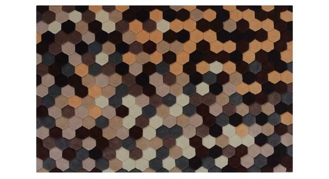 "Carina Carpet (Brown, 152 x 244 cm  (60"" x 96"") Carpet Size) by Urban Ladder - Design 1 Details - 304798"