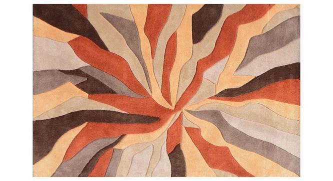 "Carmela Carpet (Orange, 122 x 183 cm  (48"" x 72"") Carpet Size) by Urban Ladder - Design 1 Details - 304972"