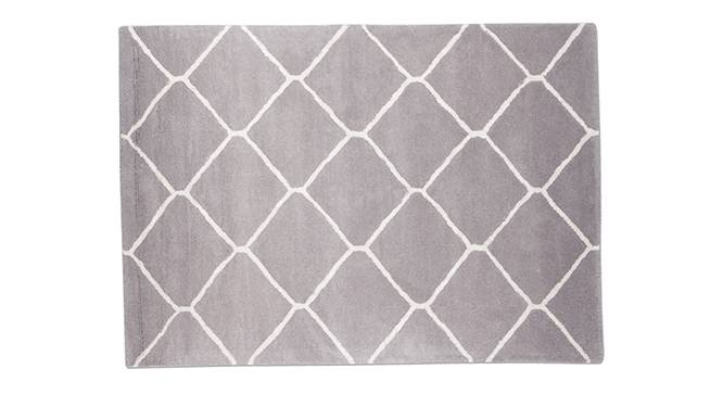 "Virginia Hand Tufted Carpet (Grey, 152 x 236 cm  (60 x 93"") Carpet Size) by Urban Ladder - - 30507"