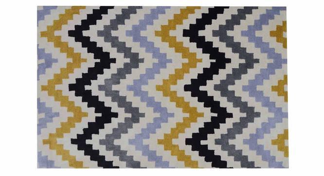 "Gino Carpet (Yellow, 122 x 183 cm  (48"" x 72"") Carpet Size) by Urban Ladder - Design 1 Details - 305116"
