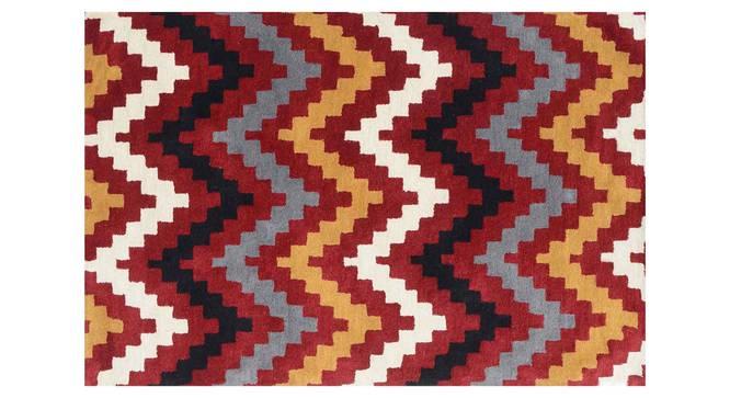 "Gino Carpet (Red, 91 x 152 cm  (36"" x 60"") Carpet Size) by Urban Ladder - Design 1 Details - 305170"