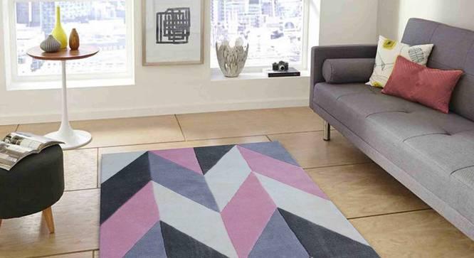 "Monte Carpet (Pink, 122 x 183 cm  (48"" x 72"") Carpet Size) by Urban Ladder - Front View Design 1 - 305205"