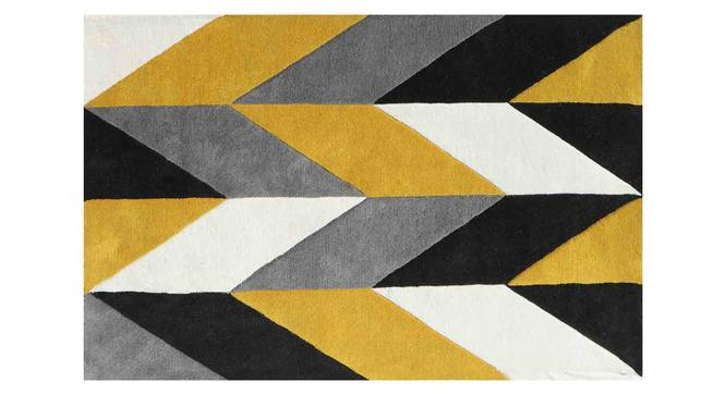 "Monte Carpet (Yellow, 91 x 152 cm  (36"" x 60"") Carpet Size) by Urban Ladder - Design 1 Details - 305252"