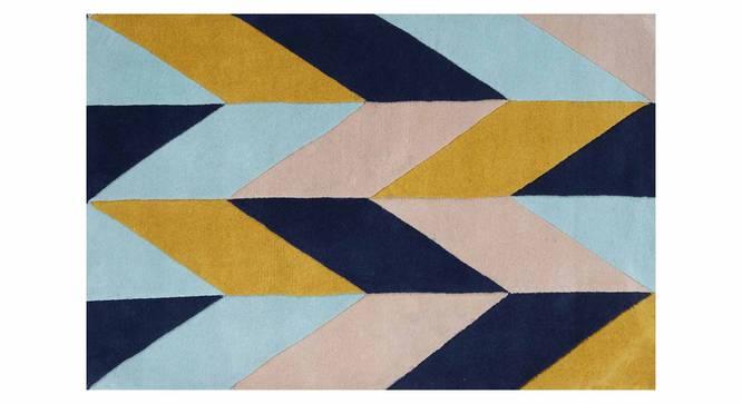 "Monte Carpet (Blue, 152 x 244 cm  (60"" x 96"") Carpet Size) by Urban Ladder - Design 1 Details - 305294"