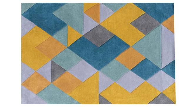 """Nicolo Carpet (Blue, 56 x 140 cm (22"""" x 55"""") Carpet Size) by Urban Ladder - Design 1 Details - 305306"""